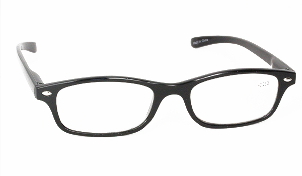 Sort feminin brille i let design - Design nr. b54