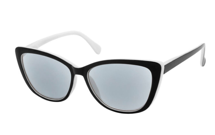 Smart cateye solbrille i retro - vintage look - Design nr. b351