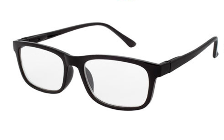 Sort brille i smart enkelt design. - Design nr. b444